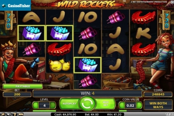 Wild Rockets casino games