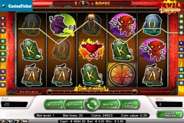 Devil's Delight free spins
