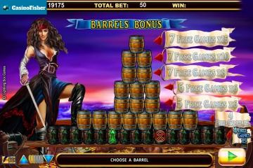 Five Pirates free spins