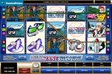 Agent Jane Blonde no deposit bonus