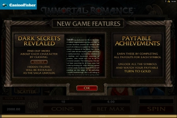 best Immortal Romance casinos