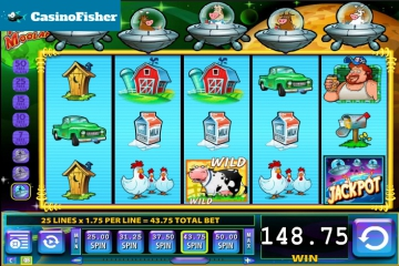 Invaders from the Planet Moolah free spins