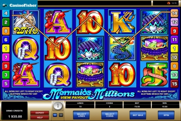 Mermaids Millions casino games