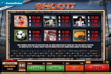 Shoot! free spins