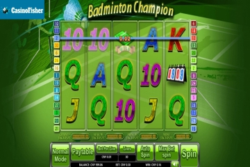 Badminton Champion slot