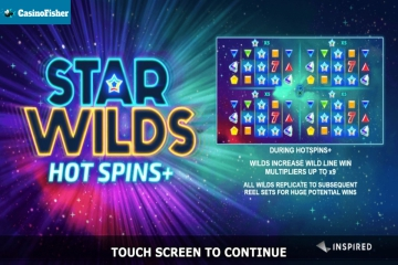 Star Wilds Hot Spins slot