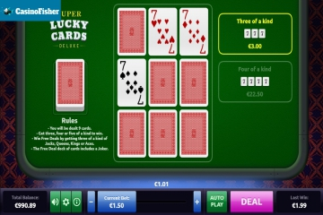 Super Lucky Cards Deluxe slot