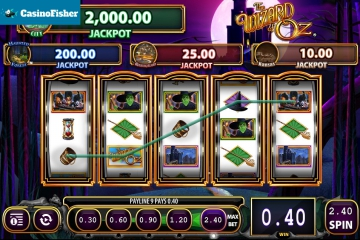 THE WIZARD OF OZ Wicked Riches slot