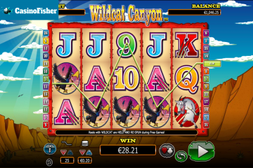 Wild Cat Canyon slot