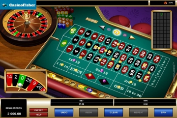 American Roulette (Microgaming) roulete