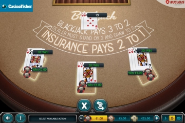 European Blackjack (Nucleus Gaming) blackjack