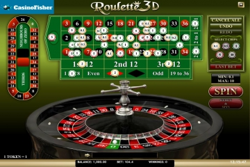 Roulette 3D (iSoftBet) roulete