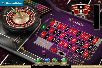 Roulette VIP (iSoftBet) roulete