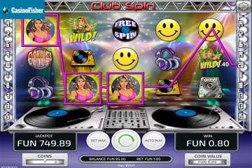 Club Spin (Concept Gaming) slot
