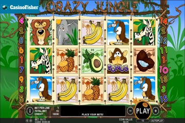 Crazy Jungle (Pragmatic Play) slot