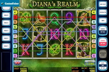 Dianas Realm Deluxe slot