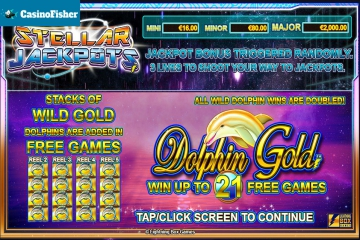 Dolphin Gold with Stellar Jackpots slot