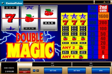 Double Magic slot