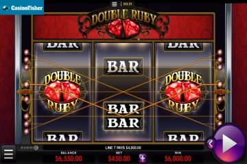 Double Ruby slot