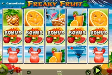 Freaky Fruit (888 Gaming) slot