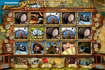 Ghost Pirates The 100,000 Quest slot