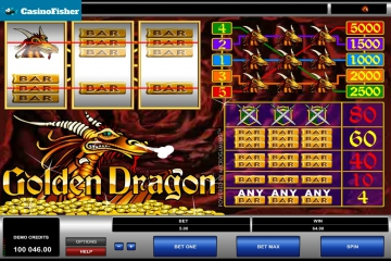 Golden Dragon (Microgaming) slot