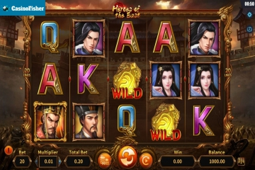 Heroes of the East slot