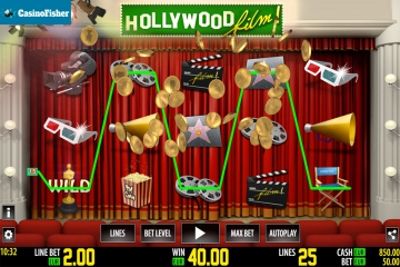 Hollywood HD slot