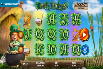 Irish Riches (888 Gaming) slot