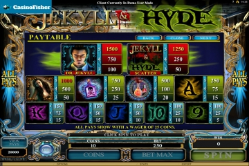 Jekyll And Hyde (Microgaming) slot