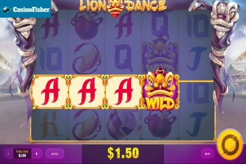Lion Dance (Red Tiger) slot