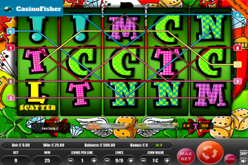 Lucky Letters (9) slot