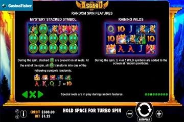Asgard (Pragmatic Play) slot