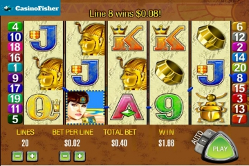 Queen Of The Nile slot