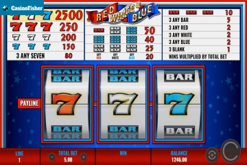 Red White & Blue (IGT) slot