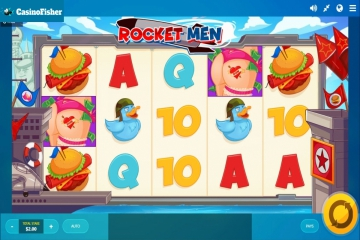 Rocket Man (Red Tiger) slot