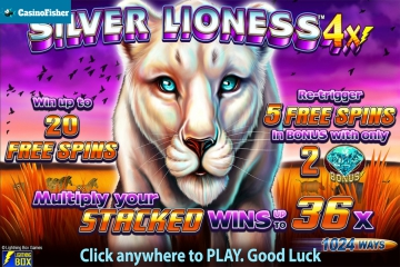Silver Lioness 4x slot