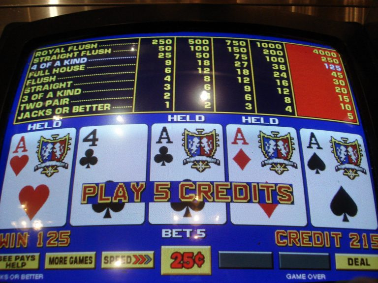 real money video poker game photo