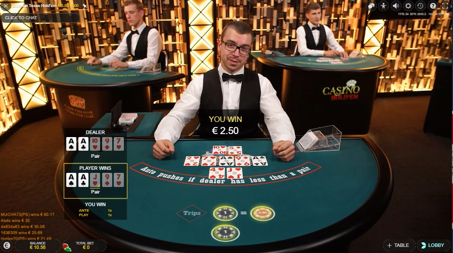 Ultimate Texas Holdem Online Casinos for real money