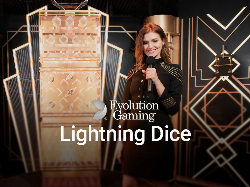 Lightning Dice Online at CasinoFisher
