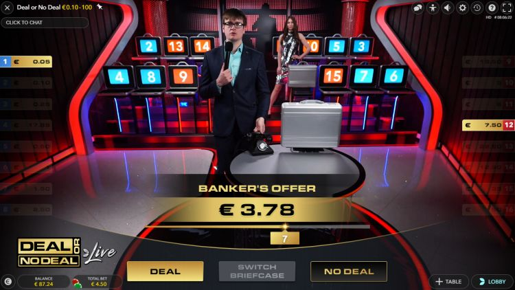 Deal or No Deal Live for real money